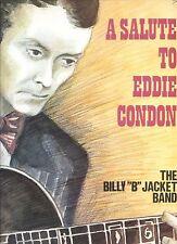 BILLY B JACKET BAND a salute to eddie condon HOLLAND 1977 RARE JAZZ REC EX+