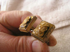 Vintage Sterling Cufflinks with Cameo