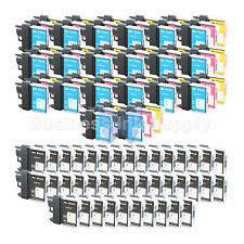 100+ PACK LC65 Ink Set for Brother MFC-5890CN MFC-5895CW MFC-6490CW MFC-6890CDW