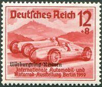 Deutsches Reich Nr. 696 sauber postfrisch ex 695 - 697 DR Nürnburgring Rennen