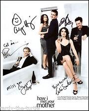 How I Met Your Mother Cast #2  8 x 10 Autograph Reprint Neil Patrick Harris +4