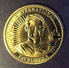 Pavel Bure 1997-98 Pinnacle Mint Minternational Jumbo Brass Coin #M-6