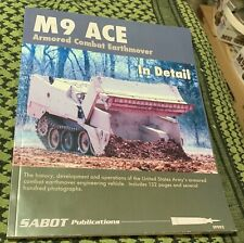 M9 ACE Armored Combat Earthmover in Detail Sabot Pubs OOP FREE USA SHIPPING