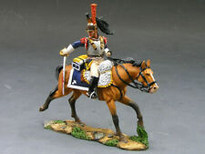 King & Country NA117 - Charging French CUIRASSIER age of Napoleon
