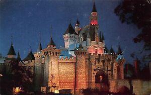 "Anaheim CA Disneyland ""Sleeping Beauty's Castle"" Anaheim Edition Postcard"