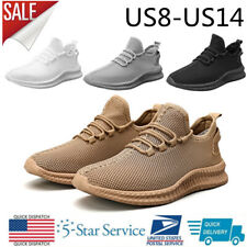 New listing Men's Casual Athletic Sneakers Breathable Walking Outdoor Trainers Tennis Shoes