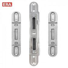 ERA Composite / Timber Door Keep Receiver Set Centre Latch & Deadbolt + 2 Hook