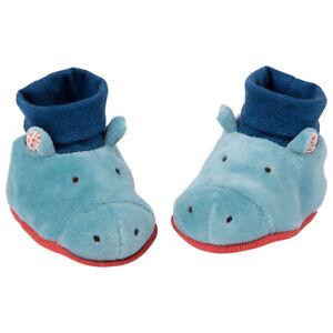 Moulin Roty 658011 Scarpine Ippopotamo Bambino 0-6 mesi Chaussons baby slippers