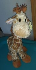 NWT Lankydoodle Giraffe, 15 inch tall,With Tags, Excellent condition, #6054