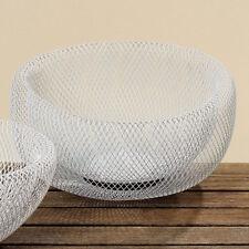 blanc deko-schalen 28 cm grand bol panier de fruits design-schalen