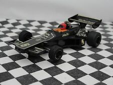 Scalextric década de 1970 F1 JPS Lotus Negro #5 C126 1:32 Usado Sin Caja
