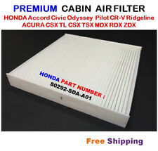 CABIN AIR FILTER For HONDA ACCORD Acura Civic CRV Odyssey C35519 White