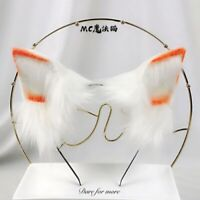 Details about  /Oversized headband KC removable styling cos terry Lolita hand-made animal ears