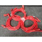 Raritan SLC14C13-15FTK1-6PK Securelock Power Cable, 15', Red, Pack of 6