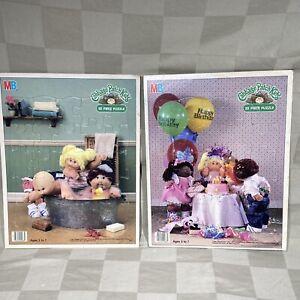 Cabbage Patch Kids 1984 Milton Bradley 25 Jigsaw Puzzle Kids Bath Birthday Party