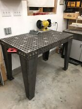 "Welding Fixture Table 30""x50"" : DXF File"