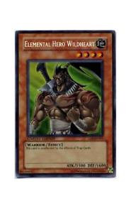 YuGiOh Card - Elemental Hero Wildheart GSE-EN001 Secret Rare (P)