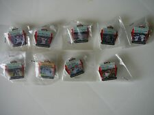 9 SF Giants 2010 Chronicle Pins-Lincecum/Burrill/Cain/Torres/Huff/Wilson/Champs!