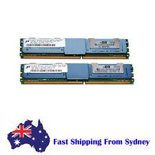 HP 2GB (2 X1G) 2Rx8 PC2-5300F DDR2-667 Fully buffered ECC Memory PN: 398706-051