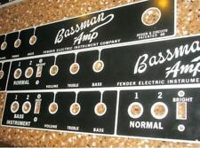 BF Bassman face plate BF Correct Sheen!