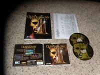 Quest for Glory V Dragon Fire English Version (PC, 1998) game with manual