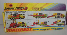 Repro Box Matchbox SuperKings K-20 Cargo Hauler and Pallet Loader