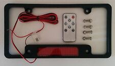 LED Red Lights Message Scroll Tag Holder - Low Cost Local Ads On Your Car