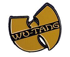 WU-Tang Music Yellow Metal Enamel Pin