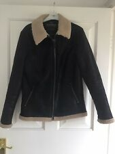 """Mens Flying Jacket By Threadbare Size S 38"""" Chest"""