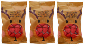 3 X Rudolph Red Nose Marshmallows Sweets / Christmas Eve Box / Stocking