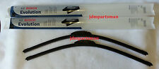 "BOSCH Evolution Beam OE-Fitment Wiper Blade (Set of 2) Front 24"" & 19"""