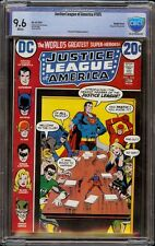 Justice League of America # 105 CBCS 9.6 White (DC, 1973) Double Cover