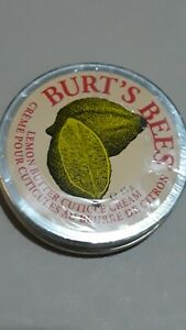 Burt's Bees 100% Natural Moisutrising Lemon Butter Cuticle Cream, 15 g