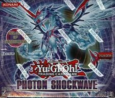YUGIOH PHOTON SHOCKWAVE BOOSTER 12 BOX CASE BLOWOUT CARDS