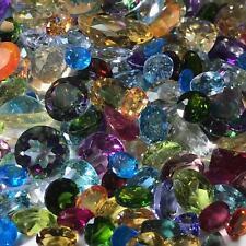 50 Carats Natural Loose Gemstones Wholesale Mixed Parcel Lot-Premium Quality!