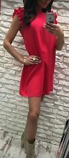 Party summer wedding women ladies girls short mini dress size 8/10 sleeveless
