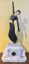 Vintage Art Deco Composite / marble Sculpture