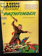 CLASSICS ILLUSTRATED #22 The Pathfinder by James F. Cooper (HRN 85) VERY FINE