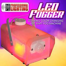 Fog Machine with Multi Colored LED Lights - 400 Watts - LED RGB Lights
