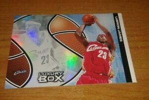NBA Lebron James 2nd Year Topps Hologram Card - 2004-05 Topps Luxury Box - Rare