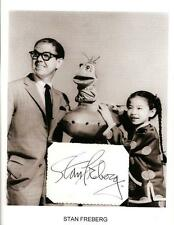 Stan Freberg Autograph St George and the Dragonet Time for Beany Foxy By Proxy 1
