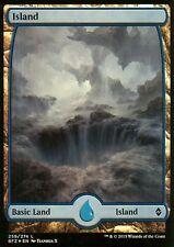 Island FOIL-version 5 (Full Art) | NM/M | Battle for zendikar | Magic MTG