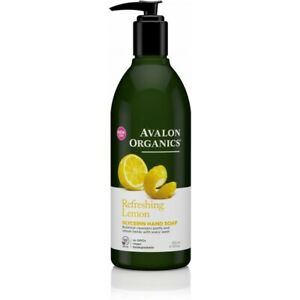 Avalon Organics Nourishing Lemon Glycerin Hand Soap 355ml