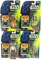 Star Wars Kenner POTF Freeze Frame Tarkin. Han solo, Nien Nunb, Rebel Trooper