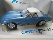 EXOTO CORVETTE STING RAY 1967 - 327 SMALL BLOCK L79 ROADSTER 1:18 MTB00015