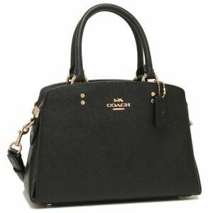 NWT Coach Crossbody 91146 Mini Lillie Carryall Crossgrain Leather Shoulder Bag