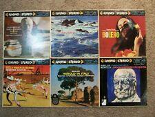 6 RCA Living Stereo LP's Bolero The Sea Harold In Italy Billy The Kid  BOSTON SO