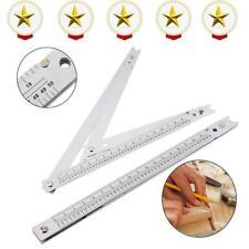 "24"" Aluminium Angle Ruler Folding Square Flooring Construction Measure Tool"