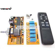 MV04 9-12V AC Quadruple ALPS Motorized Remote Control+Input Potentiometer