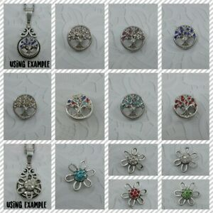 ❤Snap Jewellery–Design Your Own❤Snap Buttons 12/16mm❤FOR BRACELETS & NECKLACES❤